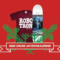 Robotron x Monster Skateboard Magazine Adventskalender