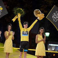 Chris Froome, 2013, Tour de France, gelbes Trikot